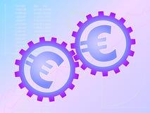 EurWork Lizenzfreies Stockbild