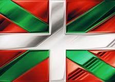 Euskadi旗子 库存照片