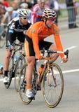 阿伦骑自行车者euskadi euskaltel lezaun佩雷斯 免版税库存照片