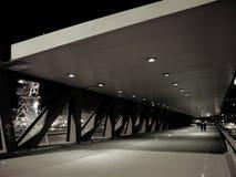 Euskalduna Bridge in Bilbao Royalty Free Stock Photos