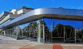 Euskalduna Conference Centre and Concert Hall in Bilbao, Spain Stock Photo