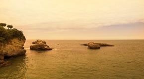 Euskalerria海滩 库存照片