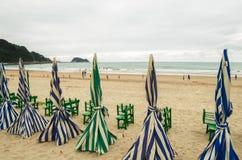 Euskalerria海滩 免版税库存图片