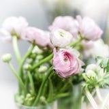 Eustoma flowers bouquet Royalty Free Stock Photo