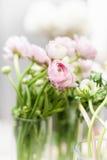 Eustoma flowers bouquet Stock Photography