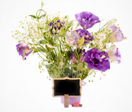 Eustoma flowers Stock Image