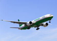 Eva Air Photo libre de droits