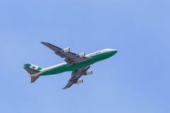 EVA Air 747 Cargo Jet Stock Image