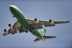 Eva Air Cargo Royalty Free Stock Images