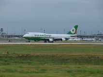 EVA Air Cargo Getting New 747-800s foto de archivo