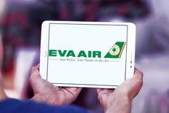 EVA Air Logo Stockfotos