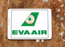 EVA Air Logo Stockfoto