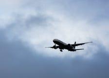 Eva Air 777 SFO de débarquement Photos stock