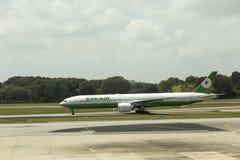 EVA Air - Taïwan Photo stock