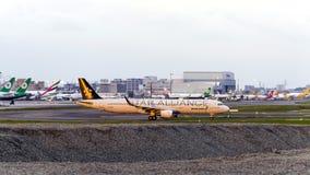 EVA Airways Lizenzfreies Stockbild