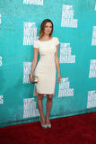 Eva Amurri Martino arriving at the 2012 MTV Movie Awards Royalty Free Stock Image