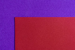 Eva foam smooth red on purple Stock Images