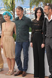 Eva Green & Nanna Oland Fabricius & Mads Mikkelsen & Jeffrey Dean Morgan Stock Photo