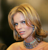 Eva Herzigova Royalty Free Stock Photography