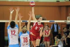 Eva Hodanova - volleyball Royalty Free Stock Photography