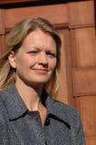 EVA KJER HANSEN_ SOCIAL MINISTER royaltyfri bild