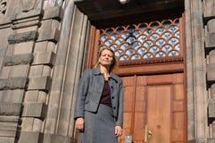 EVA KJER HANSEN_ SOCIAL MINISTER royaltyfria bilder