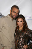 Eva Longoria Parker,Tony Parker Royalty Free Stock Images