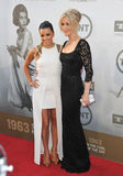 Eva Longoria & Felicity Huffman stock photo