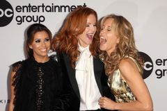 Eva Longoria,Felicity Huffman,Marcia Cross Royalty Free Stock Photos