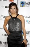 Eva Longoria. HOLLYWOOD, CA - OCTOBER 11, 2009: Eva Longoria at the 13th Annual Los Angeles Latino International Film Festival Opening Gala held at the Grauman`s Royalty Free Stock Image
