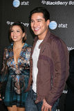 Eva Longoria,Mario Lopez Royalty Free Stock Photos