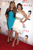 Eva Longoria Parker,Paulina Rubio Royalty Free Stock Photo