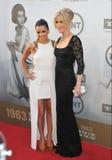 Eva Longoria y Felicity Huffman Foto de archivo
