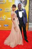 Eva Marcille,Lance Gross Royalty Free Stock Photography