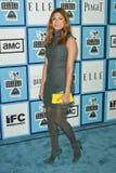 Eva Mendes. At the 2008 Film Independent's Spirit Awards. Santa Monica Pier, Santa Monica, CA. 02-23-08 Royalty Free Stock Photo