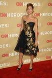Eva Mendes, heróis do CNN Foto de Stock Royalty Free