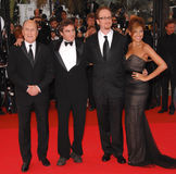 Eva Mendes,James Gray,Joaquin Phoenix,Robert Duvall Royalty Free Stock Photo