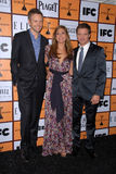 Eva Mendes,Jeremy Renner,Joel McHale Royalty Free Stock Photos