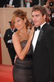 Eva Mendes,Joaquin Phoenix Stock Photos