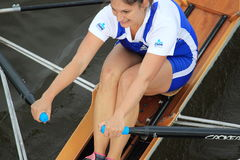 Eva Merunkova - 100th Primatorky rowing race Stock Photo