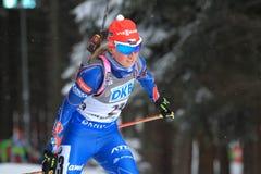 Eva Puskarcikova - biathlon Stock Photography