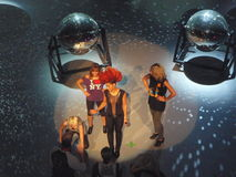 eva repetitionsimons Arkivfoto
