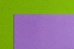 Eva-Schaum hellpurpurn auf apfelgrünem Stockbilder
