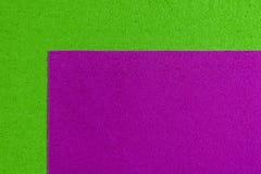 Eva-Schaumrosa auf apfelgrünem Lizenzfreies Stockfoto