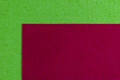 Eva-Schaumrot auf apfelgrünem Lizenzfreie Stockbilder