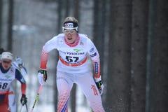 Eva Schuetzova - cross country Stock Image