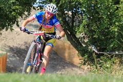 Eva Zemankova - MTB cross country Stock Photography