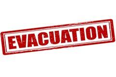 evacuação ilustração royalty free