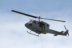 Evacuação do helicóptero Imagem de Stock Royalty Free