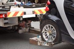 Evacuación del coche Foto de archivo libre de regalías